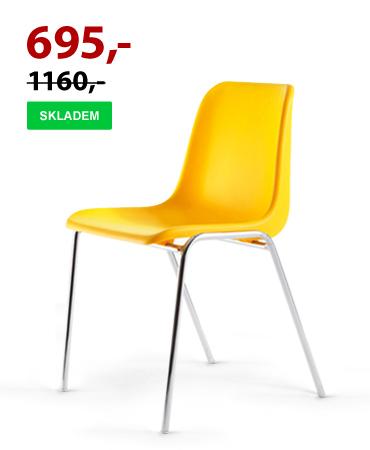 Jídelní židle VICENZA chrom