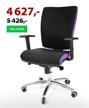 Kancelářská židle MULTISED 391 XXL nosnost 140 kg