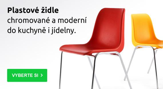 Plastové-židle