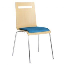 Konferenční židle ANTARES Elsi TC modrá