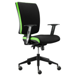 Kancelářská židle ALBA Lara VIP XXL nosnost 150 kg, záruka 5 let