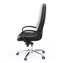 Kancelářské křeslo MULTISED Komfort 401 koženka nosnost 150 kg bok