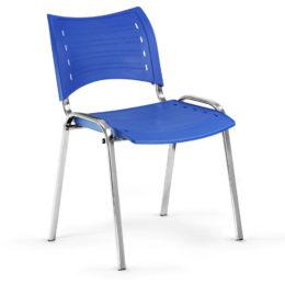 Konferenční židle Smart PC modrá