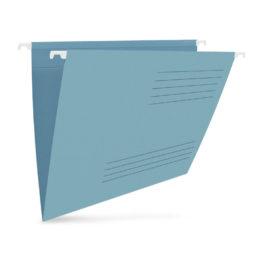 Závěsné desky pro kartotéku A4 barevné 25 ks modré