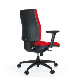 Kancelářská židle ANTARES 1880 SYN Armin s područkami AR40 nosnost 130 kg zadek