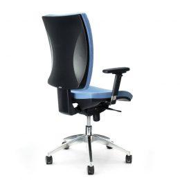 Kancelářská židle ANTARES 1580 SYN Gala ALU s područkami AR08C nosnost 130 kg zadek