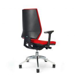 Kancelářská židle ANTARES 1870 SYN Motion ALU s područkami AR40 nosnost 130 kg zadek