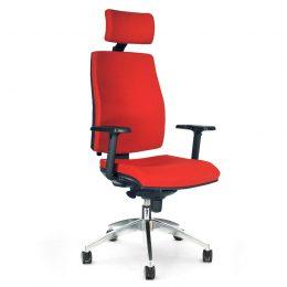 Kancelářská židle ANTARES 1880 SYN Armin ALU PDH s područkami AR40 nosnost 130 kg