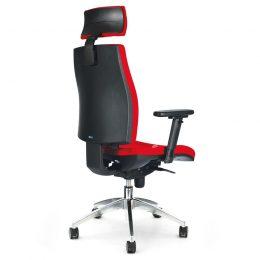 Kancelářská židle ANTARES 1880 SYN Armin ALU PDH s područkami AR40 nosnost 130 kg zadek