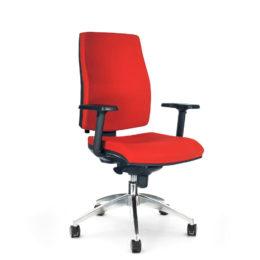 Kancelářská židle ANTARES 1880 SYN Armin ALU s područkami AR40 nosnost 130 kg