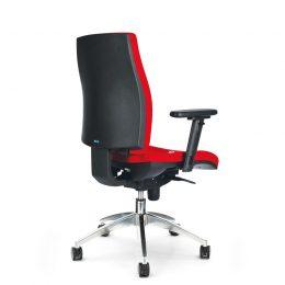 Kancelářská židle ANTARES 1880 SYN Armin ALU s područkami AR40 nosnost 130 kg zadek