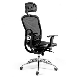 Kancelářská židle ANTARES Oklahoma PDH s područkami AR08C nosnost 130 kg zadek
