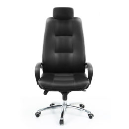 Kancelářské křeslo MULTISED Komfort 401 PDH koženka nosnost 150 kg předek