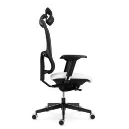 Kancelářská židle EMAGRA X4P s područkami 3B nosnost 150 kg bok