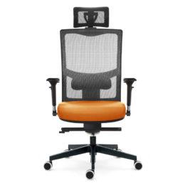 Kancelářská židle EMAGRA X5PF s područkami 3B nosnost 130 kg