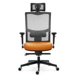 Kancelářská židle EMAGRA X5PF s područkami 3B nosnost 130 kg předek