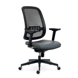 Kancelářská židle ANTARES 1840 SYN Fusion PERF SL s područkami AR08 nosnost 130 kg