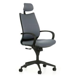 Kancelářská židle FUTURA Black s područkami nosnost 135 kg