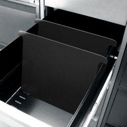 Dělící příčka pro kartotéku A4 plastová
