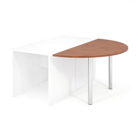 Jednací prvek LENZA včetně nohou pro stůl široký 2x80 cm