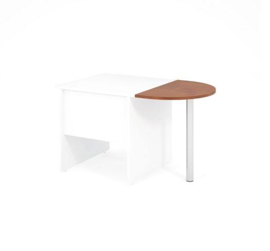 Jednací prvek LENZA včetně nohy pro stůl široký 80 cm