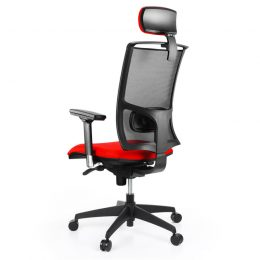 Kancelářská židle ALBA Lara NET PDH XXL nosnost 150 kg zadek