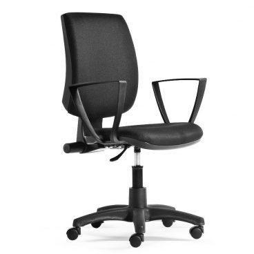 Kancelářská židle ALBA York rektor s područkami nosnost 130 kg