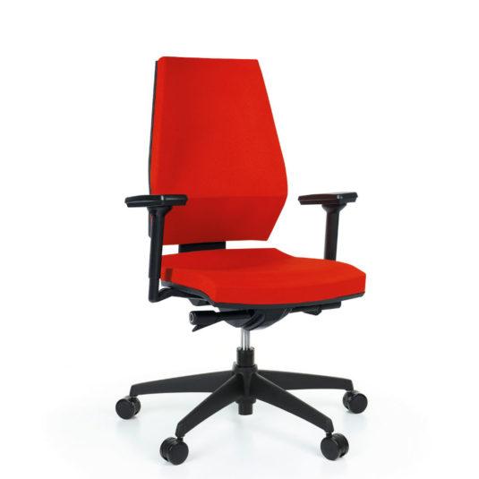 Kancelářská židle ANTARES 1870 SYN Motion s područkami AR40 nosnost 130 kg