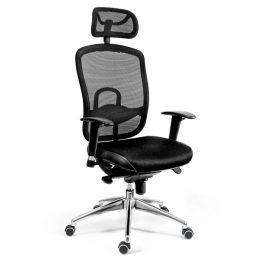 Kancelářská židle ANTARES Oklahoma PDH s područkami AR08C nosnost 130 kg