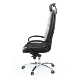 Kancelářské křeslo MULTISED Komfort 401 PDH koženka nosnost 150 kg bok