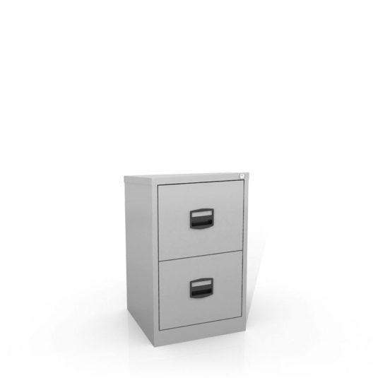 Kartotéka A4 kovová Bisley CC2H1A:A4 dvouzásuvková šedá