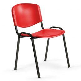 Konferenční židle ANTARES Taurus PN ISO červená