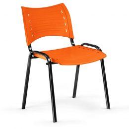 Konferenční židle Smart PN oranžová