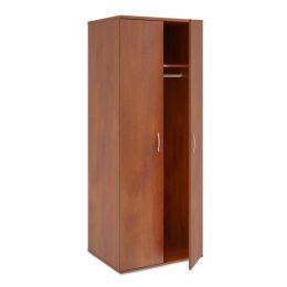 Šatní skříň do ordinace MD se šatní tyčí, 1 police, vysoká