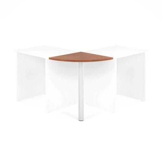 Propojovací prvek LENZA včetně nohy pro stoly široké 60 cm