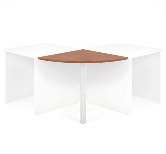 Propojovací prvek LENZA včetně nohy pro stoly široké 80 cm